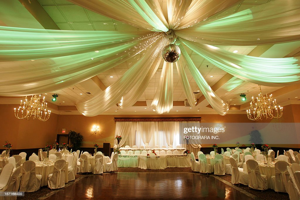 Wedding hall interior : Stock Photo