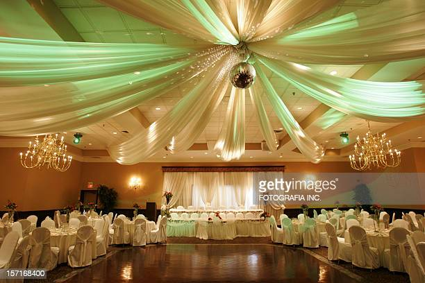 Wedding hall interior