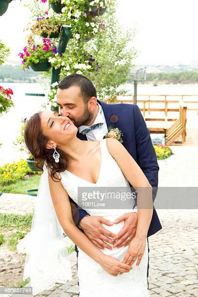 Casamento Beijo