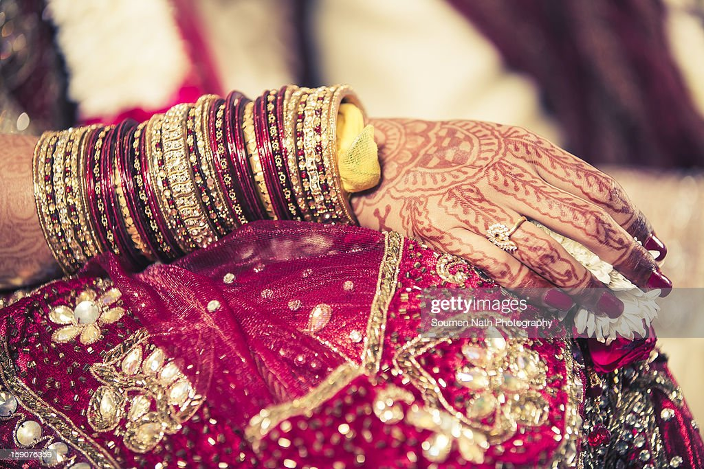 Wedding - Mehendi : Stock Photo