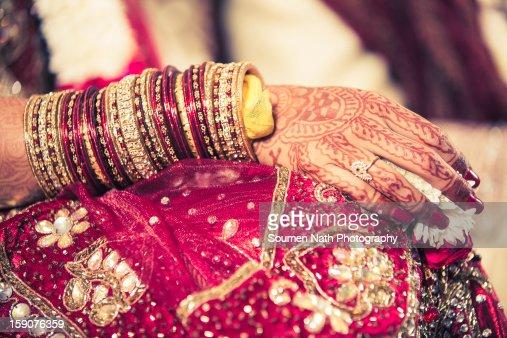 Wedding - Mehendi : Stock Photo