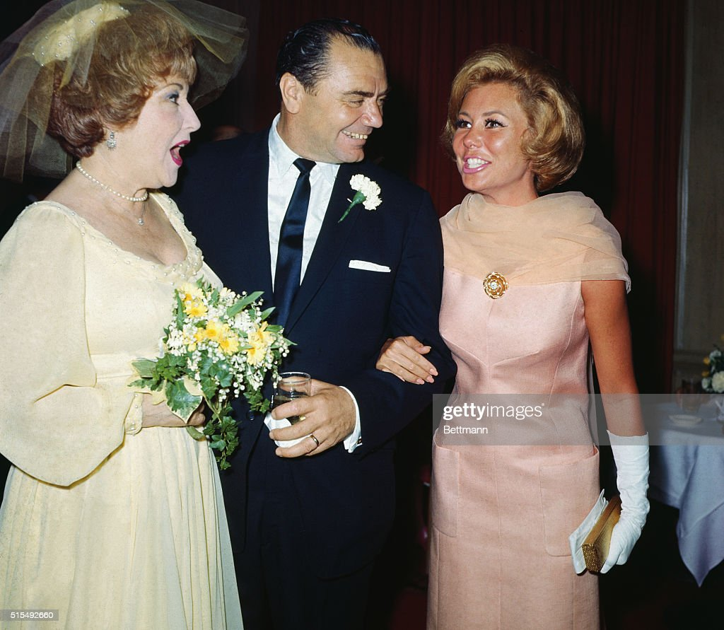 ernest borgnine ethel merman and mitzi gaynor pictures getty
