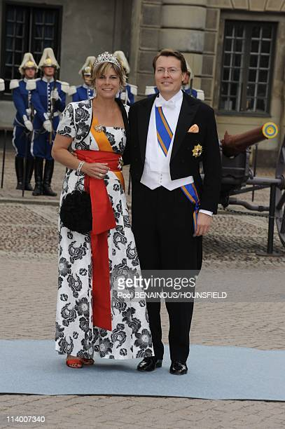 Wedding of Her Royal Highness Crown Princess Victoria of Sweden and Daniel Westling In Stockholm Sweden On June 19 2010Wedding of Her Royal Highness...