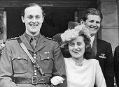 Wedding Of Kathleen Agnes Kennedy With William Cavendish Marquess Of Hartington May 6Th 1944