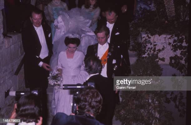Wedding of Maria Vladimirovna daughter of Grand Duke Vladimir Kirillovich Romanov head of the Russian imperial dynasty with the Prince William of...