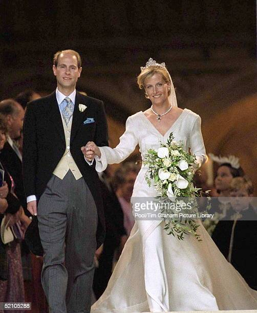 Wedding Of Prince Edward And Sophie Rhysjones
