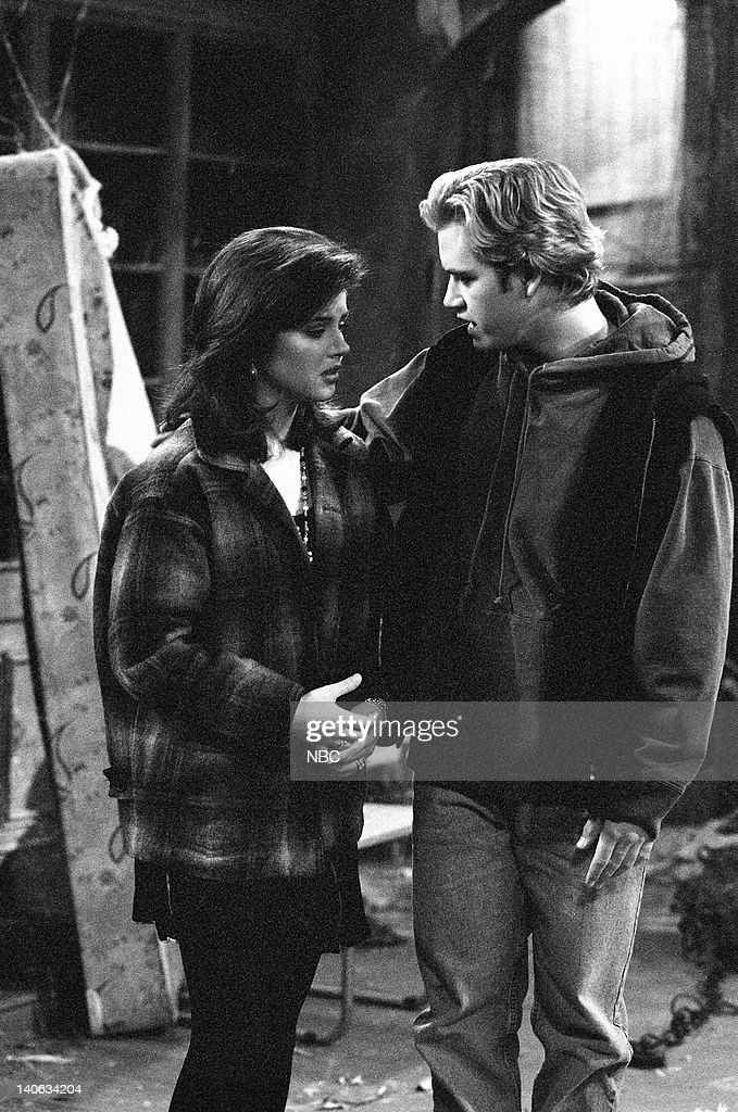 YEARS 'Wedding Plans' Episode 19 Air Date Pictured Tiffani Thiessen as Kelly Kapowski MarkPaul Gosselaar as Zack Morris Photo by Frank Carroll/NBCU...