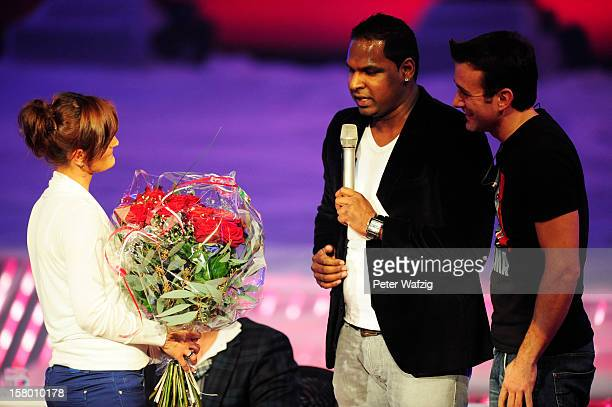 wedding proposal at the 'Das Supertalent' Semi Finals on December 08 2012 in Cologne Germany