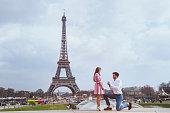 romantic proposal in Paris, engagement