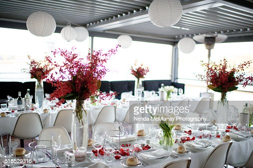 Wedding reception setup pictures : Wedding reception stock photos and pictures getty images
