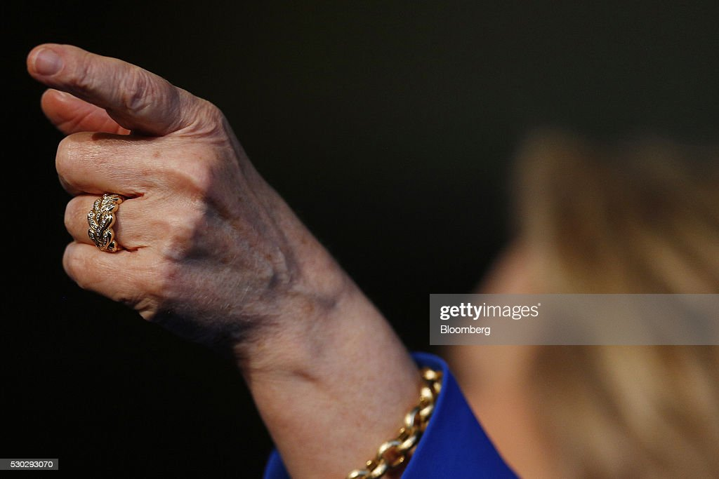 Presidential Candidate Hillary Clinton Holds Kentucky Campaign Rally Getty