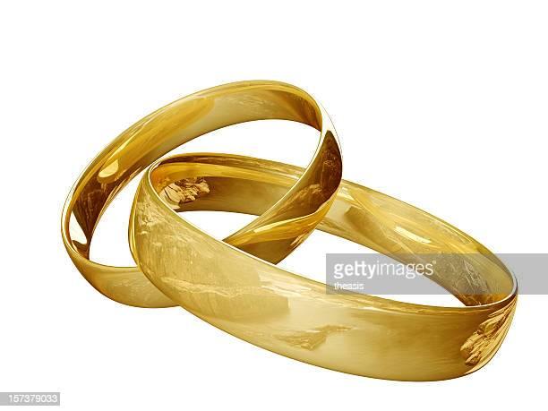 Wedding Rings - Reflected Landscape