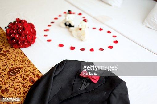 Hochzeit Anzug : Stock-Foto