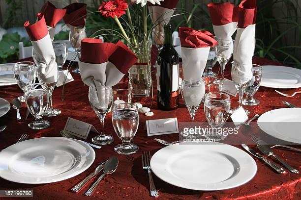 Configuration Table de mariage