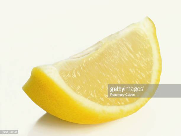 Wedge of lemon.
