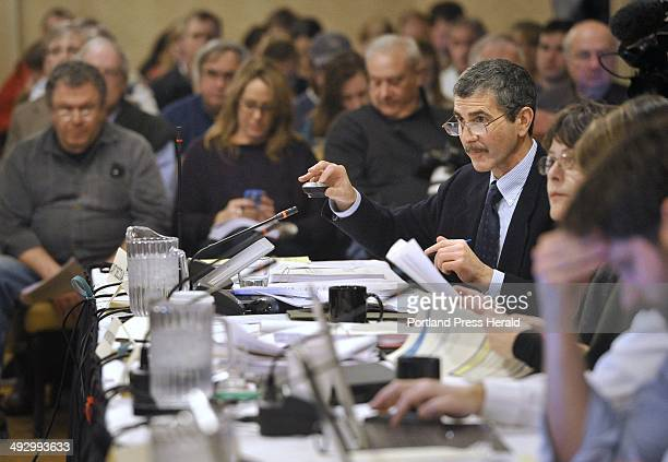 Wednesday January 30 2013 New England Fishery Management Council meeting in Portsmouth New Hampshire Dr James Weinberg gives a powerpoint...