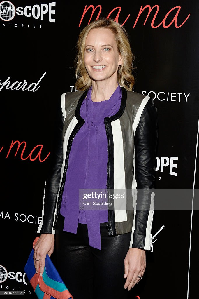 Wednesday Martin attends The Cinema Society and Chopard Host a Screening of Oscilloscope's 'ma ma' at Landmark Sunshine Theatre on May 24, 2016 in New York City.