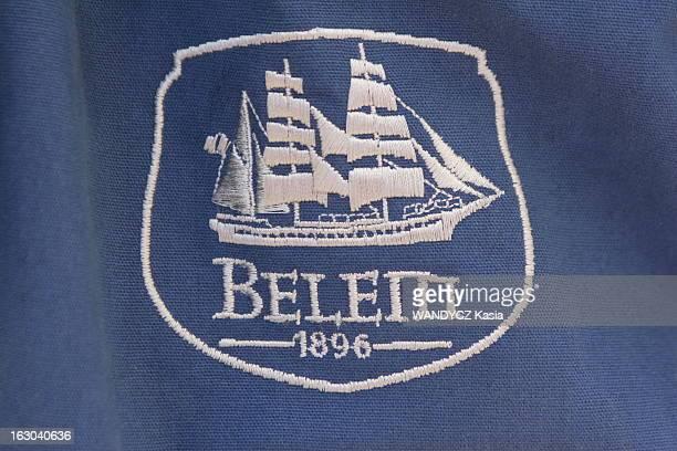 A Week Onboard The Belem Le BELEM est un troismâts construit en France en 1896 utilisé aujourd'hui comme navireécole le logo brodé