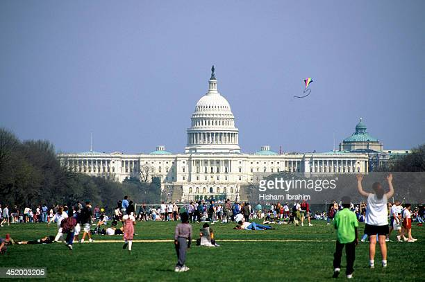 Weekend Activities by US Capitol Building, DC