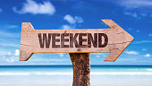Weekend sign