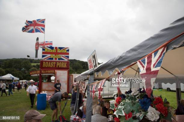 Weekly market in Charmouth Dorset England United Kingdom Every Monday from the end of May to beginning of September Charmouth Market provides a wide...