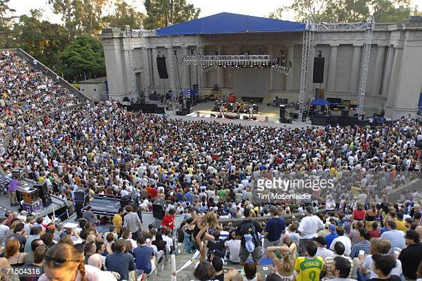 Ween warms the crowd up for The Flaming Lips performance at the Greek Theater on July 22 2006 in Berkeley California
