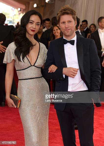 Wei Tang and Christopher Bailey attend the 'China Through The Looking Glass' Costume Institute Benefit Gala at the Metropolitan Museum of Art on May...