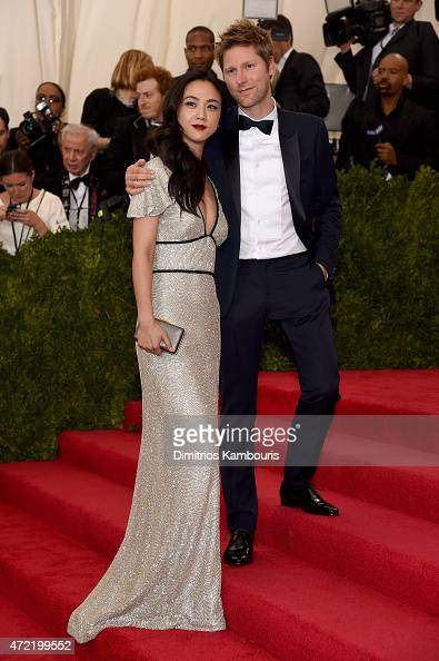 Wei Tang and Christopher Bailey attends the 'China Through The Looking Glass' Costume Institute Benefit Gala at the Metropolitan Museum of Art on May...