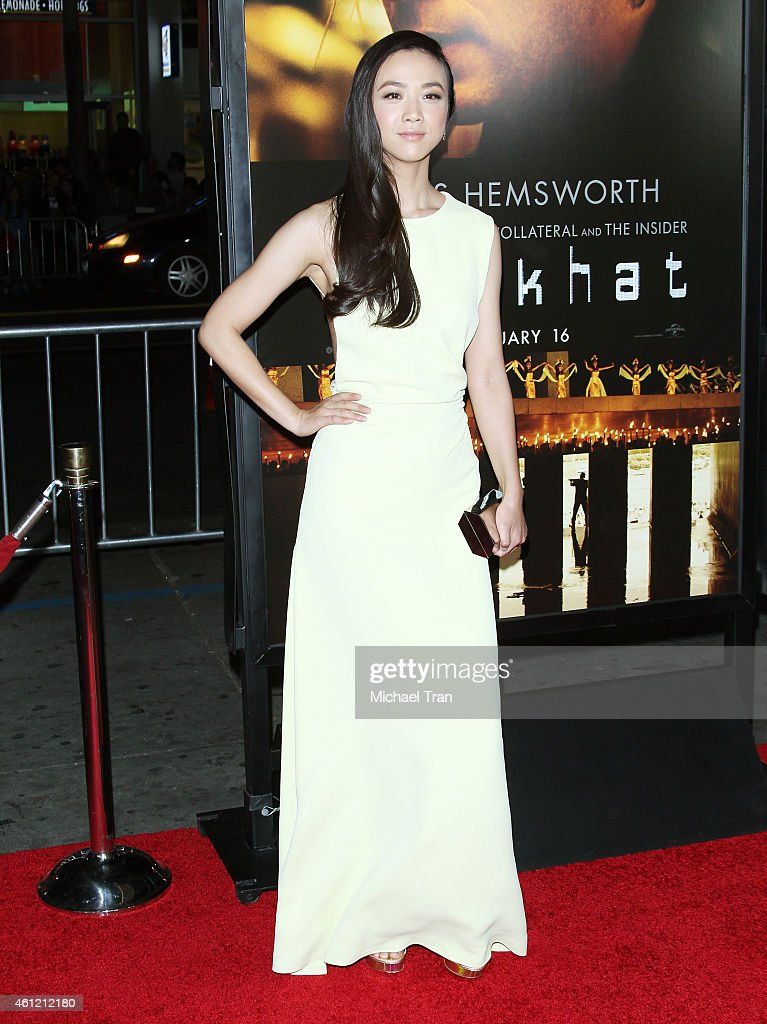 Wei Tang arrives at the Los Angeles premiere of 'Blackhat' held at TCL Chinese Theatre IMAX on January 8, 2015 in Hollywood, California.
