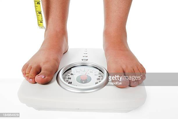 Weighing and measuring - is the diet working?