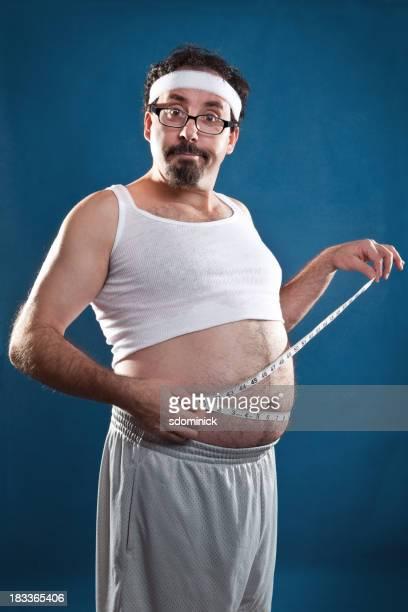 La perte de poids Guy mesure du ventre