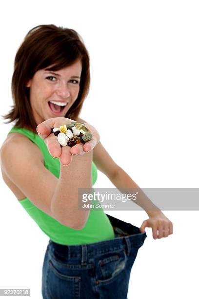 Weight loss pills or vitamins