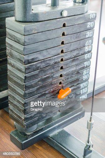 Placas de peso : Foto de stock