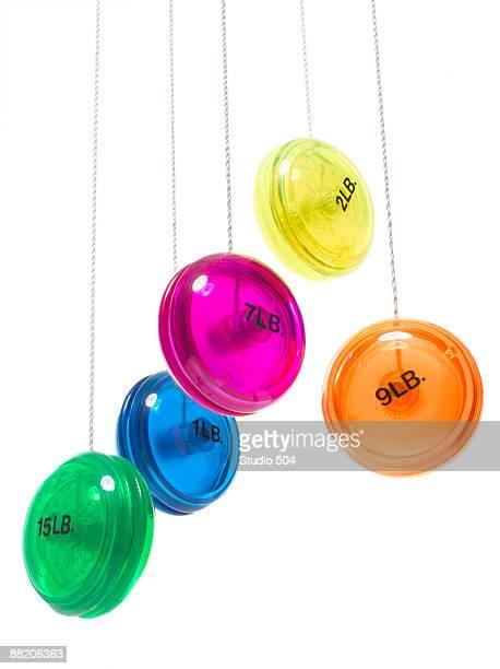 Weight yo yo's