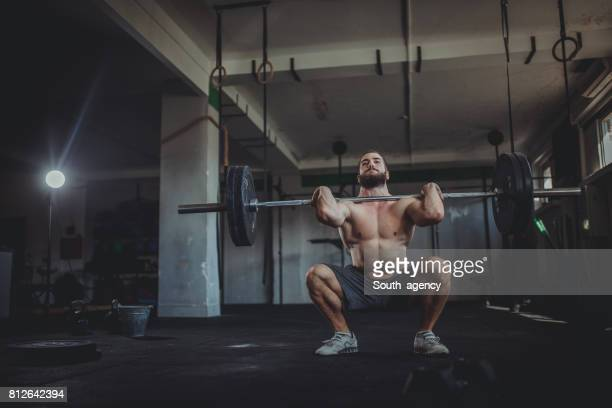 Haltérophilie exercice de