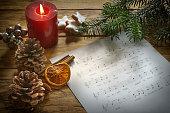 altes Weihnachtslied mit Text
