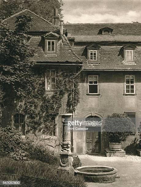 Weimar Frau von Stein's house' 1931 From Deutschland by Kurt Hielscher [F A Brockhaus Leipzig 1931] Artist Kurt Hielscher