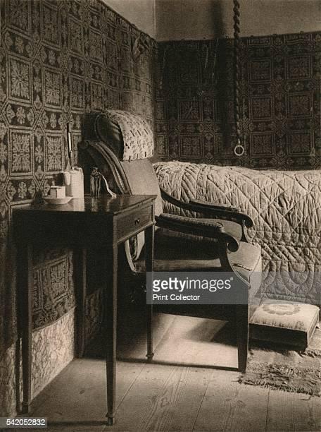 Weimar Goethe's death chamber' 1931 From Deutschland by Kurt Hielscher [F A Brockhaus Leipzig 1931] Artist Kurt Hielscher