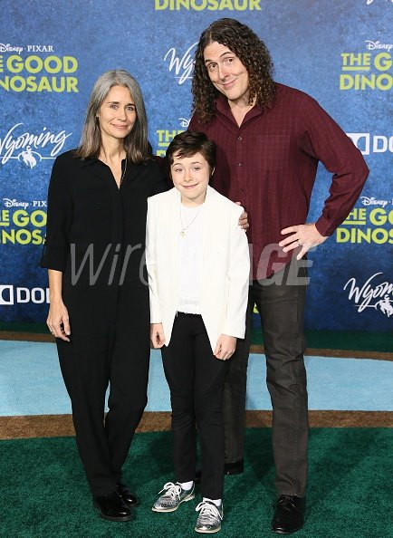 Weird Al Yankovic and Suzanne...