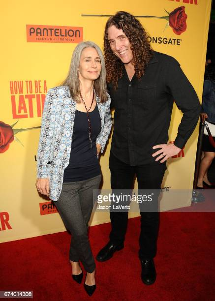 Weird al wife stock photos and pictures getty images weird al yankovic and wife and suzanne krajewski attend the premiere of how to be ccuart Images