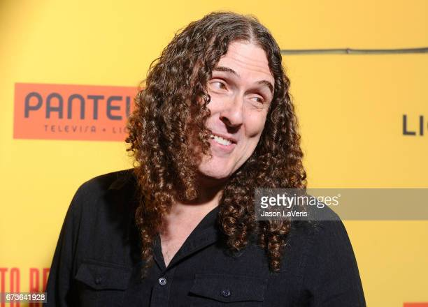 Al lover stock photos and pictures getty images weird al yankovic attends the premiere of how to be a latin lover at ccuart Images