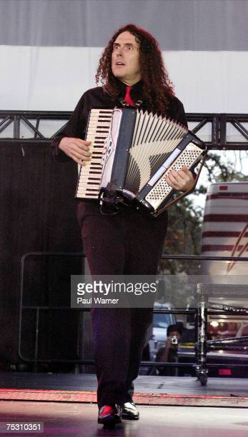 'Weird Al' Yankovic performs at the Comerica Cityfest July 5 2007 in Detroit Michigan