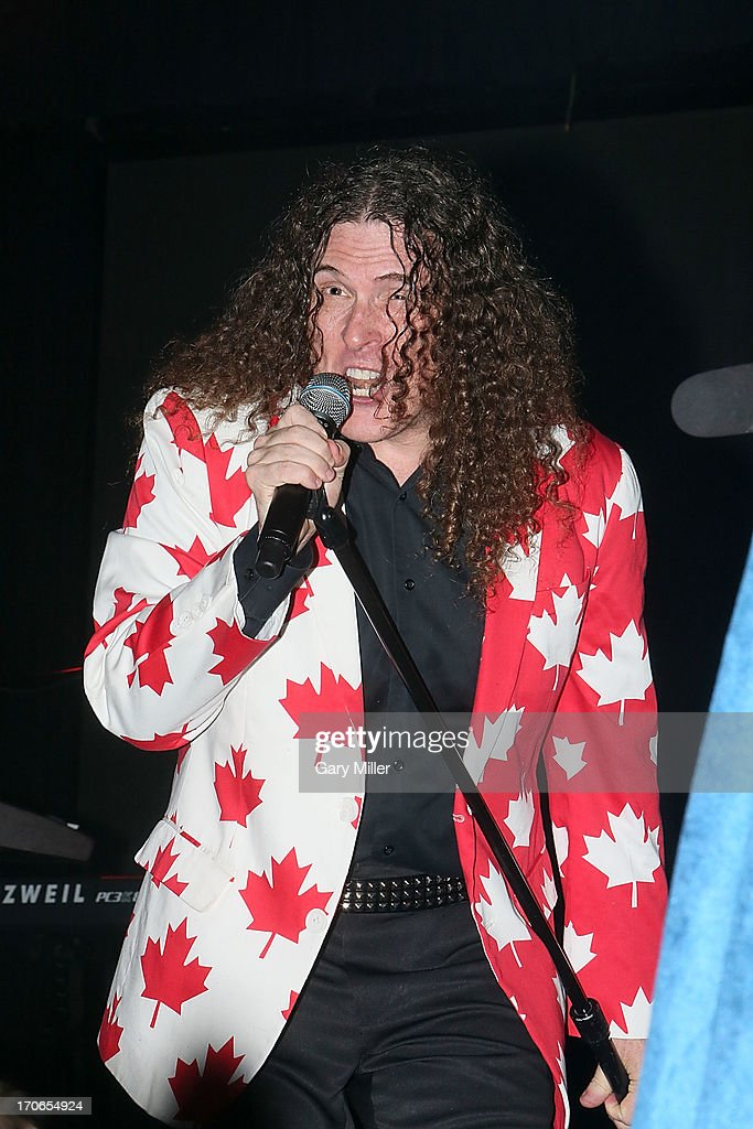 Weird Al Yankovic performs in concert during day 3 of the 2013 Bonnaroo Music & Arts Festival on June 15, 2013 in Manchester, Tennessee.
