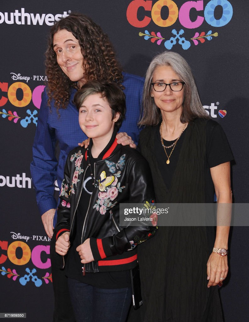 Weird al yankovic photos pictures of weird al yankovic getty weird al yankovic wife suzanne yankovic and daughter nina yankovic attend the premiere of ccuart Images