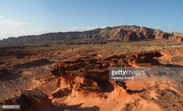 Weirdly Eroded Sandstone at Little Finland Wilderness Area, Nevada