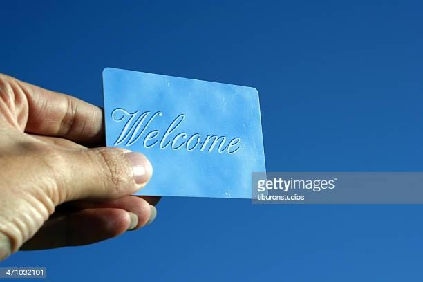Carte de bienvenue