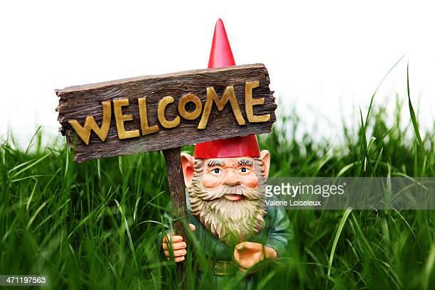 Welcome Garden Gnome