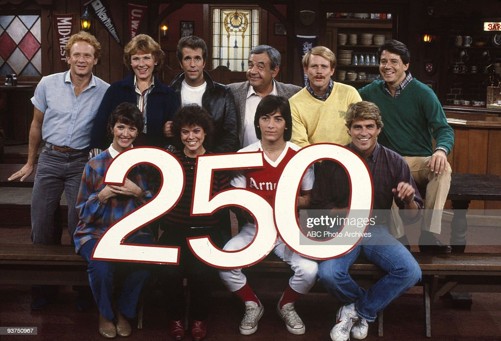 DAYS 'Welcome Home' 10/25/83 Don Most Lynda Goodfriend Marion Ross Erin Moran Henry Winkler Tom Bosley Scott Baio Ron Howard Ted McGinley Anson...