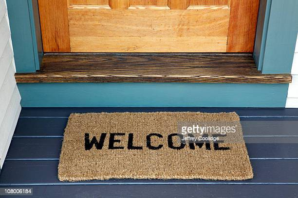 Welcome on Door Mat