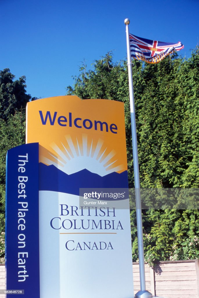 Welcome Sign to British Columbia